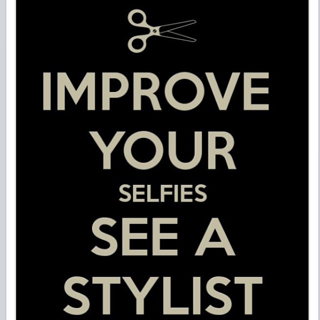 We want to improve your #selfie...call 312-943-4555 #makeover #color #cut #blowdry #updo #phyto #goldcoast #chicagostylist @salono65